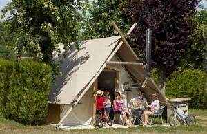 Salon du chocolat - Tente prospecteur Camping de l'Aigrette